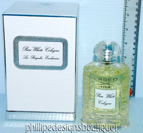 CREED Royal Exclusives Pure White Cologne 10ml SAMPLE atomizer NOT bottle READ
