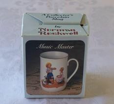 Norman Rockwell Musuc Master Porcelain Mug VGC TC08 - $5.00