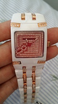 Authentic Technomarine ceramic diamond watch mini snow nwt swiss made - $1,500.00