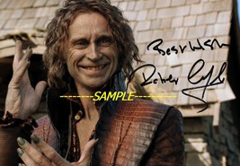 Rumplestiltskin Robert Carlyle ONCE UPON A TIME TV series photo hand sig... - $2.99