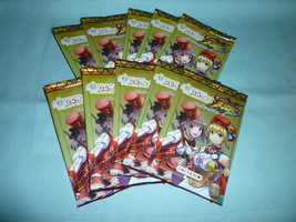 LOT Japan Anime the wizard of twins LICO & GLI collection card 10 foil p... - $15.00