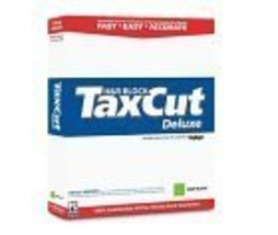 TaxCut 2004 Deluxe W/ H & R Block Deduction PRO CD [CD-ROM] [CD-ROM] - $8.75