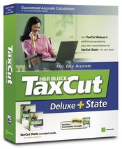 TaxCut 2005 Deluxe + State [Old Version] [CD-ROM] [CD-ROM] - $14.74