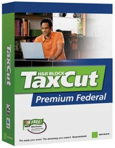 H&R Block Taxcut 2006 Premium Federal [CD-ROM] [CD-ROM] - $4.23