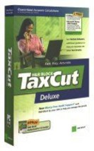 H&R Block TaxCut Deluxe Federal Return, 2005 Edition [CD-ROM] [CD-ROM] - $14.36