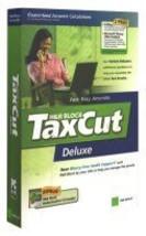 H&R Block TaxCut Deluxe Federal Return, 2005 Edition [CD-ROM] [CD-ROM] - $14.36