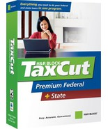 H&R Block TaxCut 2007 Premium Federal + State [OLD VERSION] [CD-ROM] [CD... - $5.99