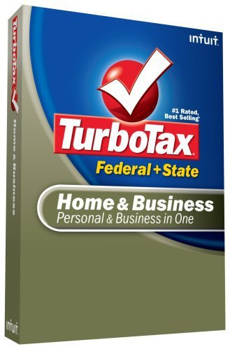 Primary image for TurboTax Home & Business Federal + State + eFile 2008 [OLD VERSION] [CD-ROM]