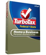 TurboTax Home & Business Federal + State + eFile 2008 [OLD VERSION] [CD-... - $19.79