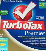 INTUIT TurboTax 2004 Premier ( Windows/Macintosh ) [CD-ROM] - $144.53