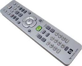 HP Media Center Remote Control Silver Platinum Blue (5187-4401) [Electro... - $7.91