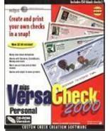 mips VersaCheck 2000 Personal w/150 checks [CD] [CD-ROM] - $69.76