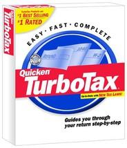 Turbo Tax 2001 For Windows [Cd Rom] [Cd Rom] - $98.99