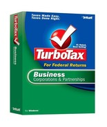 2006 TurboTax Business Corporations and Partnerships [OLDER VERSION] [CD... - $68.30