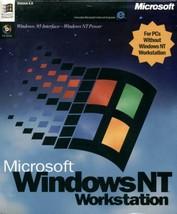 Microsoft Windows NT 4.0 Workstation (Full Retail Version 4.0 CD-ROM) [CD-ROM] - $73.24