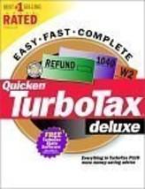 TurboTax Deluxe 2000 (PC) [CD] [CD-ROM] - $24.74