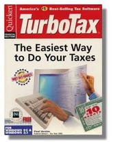 1995 TurboTax Federal Intuit Turbo Tax [CD-ROM] [CD-ROM] - $42.55