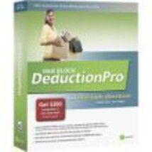H&R Block DeductionPro for PC For Tax Year 2005 or 2006 [CD] [CD-ROM] - $9.68