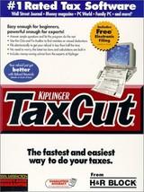 Kiplinger TaxCut from H&R Block Filing Year 2000 [CD-ROM] [CD-ROM] - $34.64