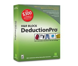 H&R Block DeductionPro 2004 [CD-ROM] [CD-ROM] - $9.40