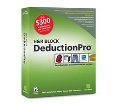 H&R Block DeductionPro 2004 [CD-ROM] [CD-ROM] - $9.40