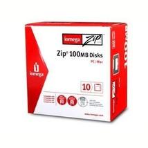 Iomega 10PK ZIP 100MB SLEEVE PC/MAC ( 32605 ) [Electronics] - $49.49