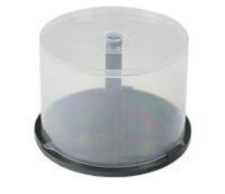 EMPTY CD/DVD CAKE BOX SPINDLE -50 DISCS [Electronics] - $5.99