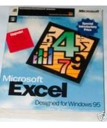 "Microsoft Excel Windows 95 Upgrade [CD-ROM] [3.5"" disk] - $20.02"
