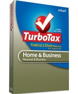TurboTax Home & Business Federal + e-File + State 2010 - [Old Version] [... - $65.32