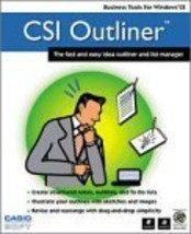 CSI Outliner Windows CE Add-On [CD-ROM] [CD-ROM] - $9.89