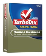 TurboTax Home & Business Federal + State 2007 [OLD VERSION] [CD-ROM] [CD... - $25.75