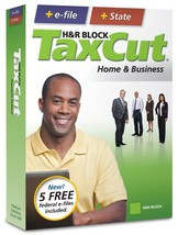 H&R Block Tax Cut 2008 Home & Business + E File [Old Version] [Cd Rom] [Cd Rom] - $23.61