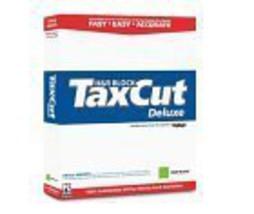TaxCut 2004 Deluxe W/ H & R Block Deduction PRO CD [CD-ROM] [CD-ROM] - $9.86