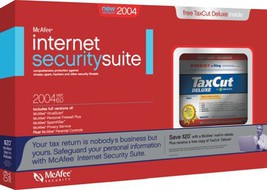 McAfee Internet Security 2004 and TaxCut Deluxe 2003 Bundle [CD-ROM] [CD-ROM] - $39.55