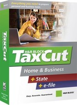H&R Block TaxCut 2007 Home & Business + State + e-file [OLD VERSION] [CD... - $5.99