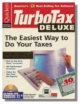 1995 TurboTax Deluxe Federal Intuit Turbo Tax [CD-ROM] - $28.59