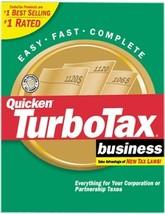 Turbo Tax 2001 Business [Cd Rom] [Cd Rom] - $128.69