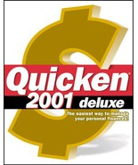 Quicken 2001 Deluxe [CD-ROM] [CD-ROM] - $19.79