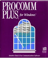 Procomm Plus for Windows - Intuitive Data & Fax Communications Software ... - $33.65