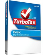 TurboTax Basic Federal + e-File 2010 - [Old Version] [CD-ROM] [CD-ROM] W... - $14.84