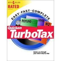 Turbotax Federal (Tax Year 2000) [CD-ROM] [CD-ROM] - $29.69