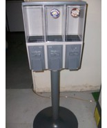 Triple Vending Gumball Candy Machine with Stand - $142.56