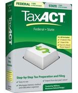 2010 TaxACT Federal + State + eFiles [CD-ROM] [CD-ROM] - $5.89