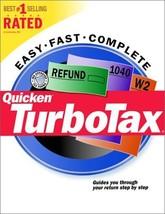 Quicken TurboTax (Tax Year 2000) [CD-ROM] [CD-ROM] - $19.79