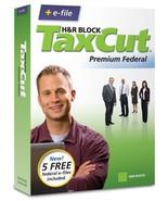 H&R Block TaxCut 2008 Premium Federal + Efile - Windows/Mac [CD-ROM] [PC] - $14.85