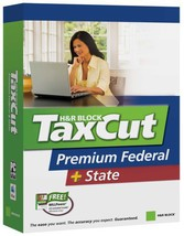 H&R Block Taxcut 2006 Premium Federal + State Win/Mac [CD-ROM] [CD-ROM] - $4.94