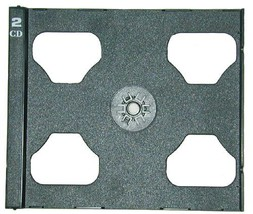 100 Black / Dark Gray CD PIVOT TRAYS #CDIR80DOPV - Turns certain single ... - $27.17
