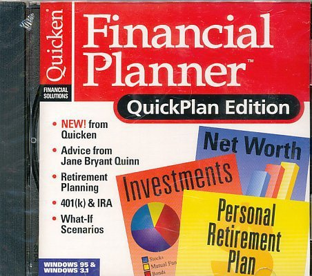 Primary image for Quicken Financial Planner, QuickPlan Edition [CD] [CD-ROM]