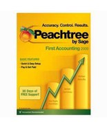 Peachtree By Sage First Accounting 2009 [CD-ROM] [CD-ROM [CD-ROM] [CD-ROM] - $49.49