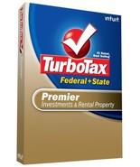 TurboTax Premier Federal + State + eFile 2008 [OLD VERSION] [CD-ROM] [CD... - $19.79